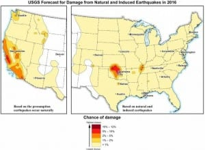 Natural and Induced Earthquates